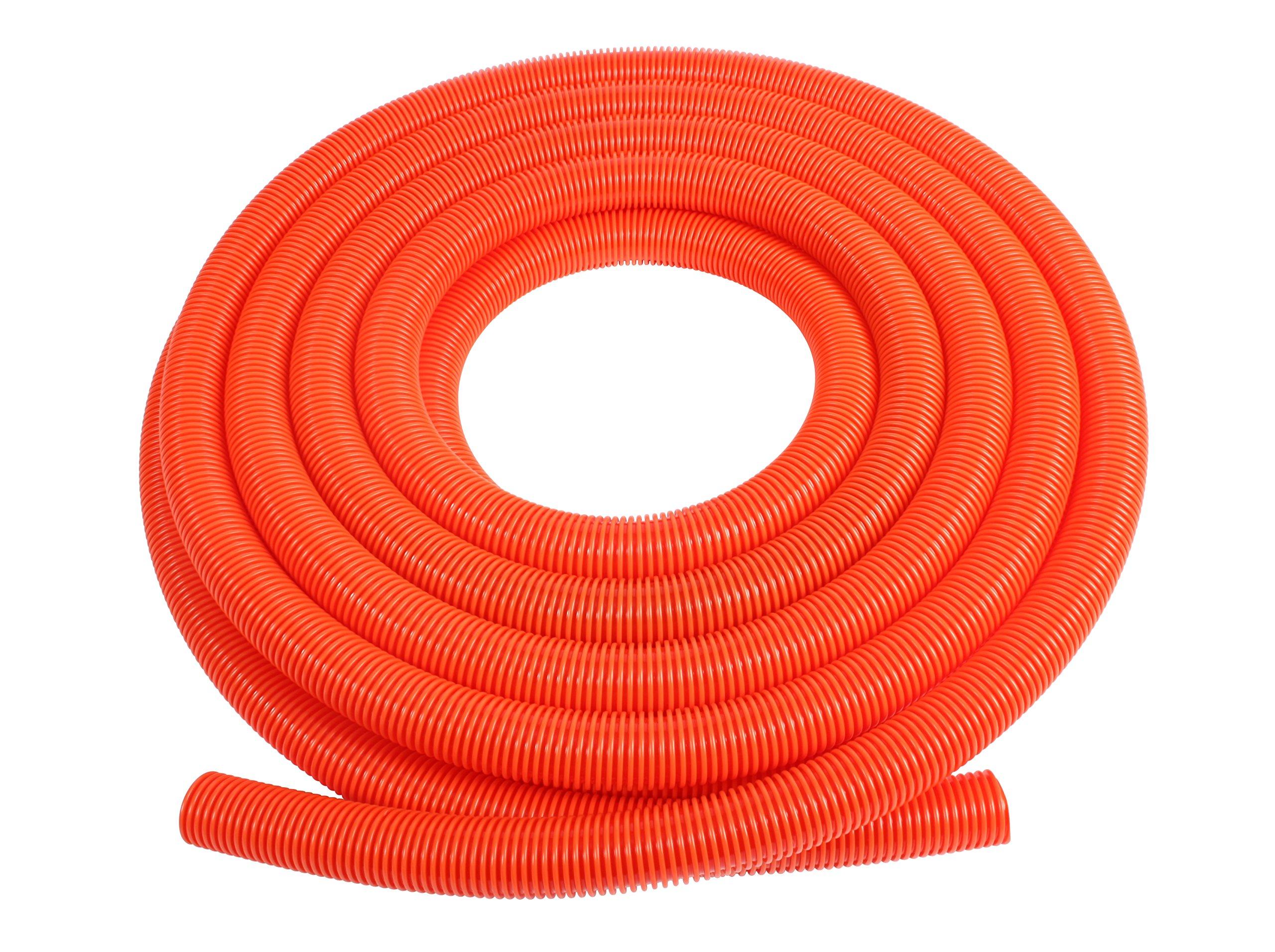 Cen-Tec Systems 62838 Vacuum Hose with 1.5'' Diameter, 50', Orange