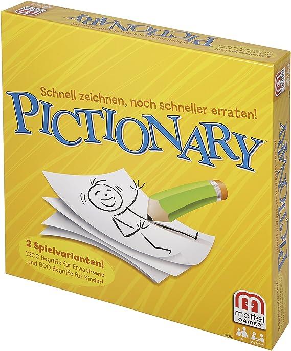 Mattel DHH87 - Pictionary (versión en alemán): Amazon.es: Juguetes y juegos