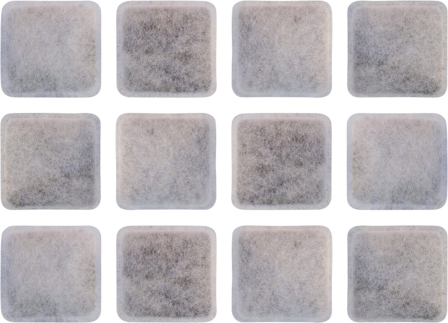 Filters for Petmate Replendish and Petmate Mason Pet Fountains, Pack of 12