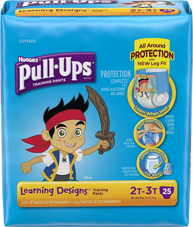 Huggies Pull-Ups Training Pants - Learning Designs - Boys - 2T-3T - 25 ct
