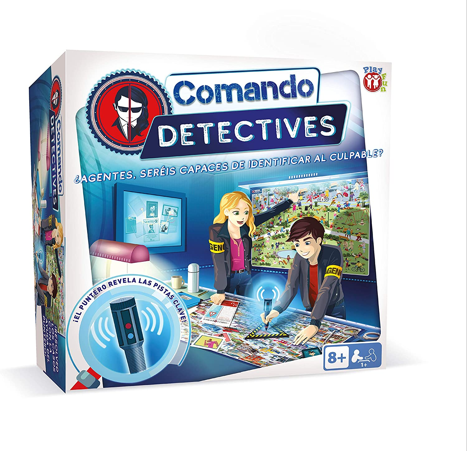 IMC Toys 93188 Play Fun Comando Detectives
