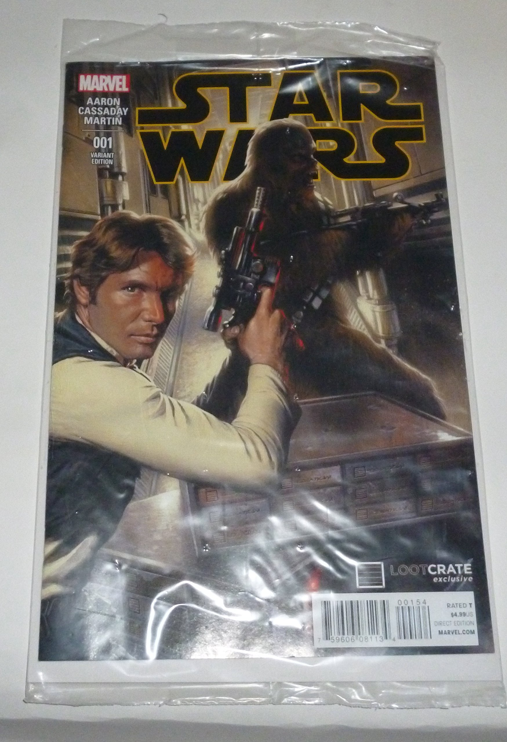 EXCLUSIVE LOOTCRATE!MARVEL!STAR WARS 001 VARIANT EDITION COMIC!BRAND NEW/&SEALED!