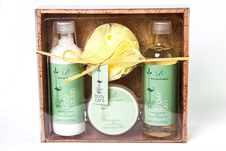 Comfortable Bath Spa Gift Set Eucalyptus With Pure Ql Eyebrow Cream 15gr Essential Oils Beauty
