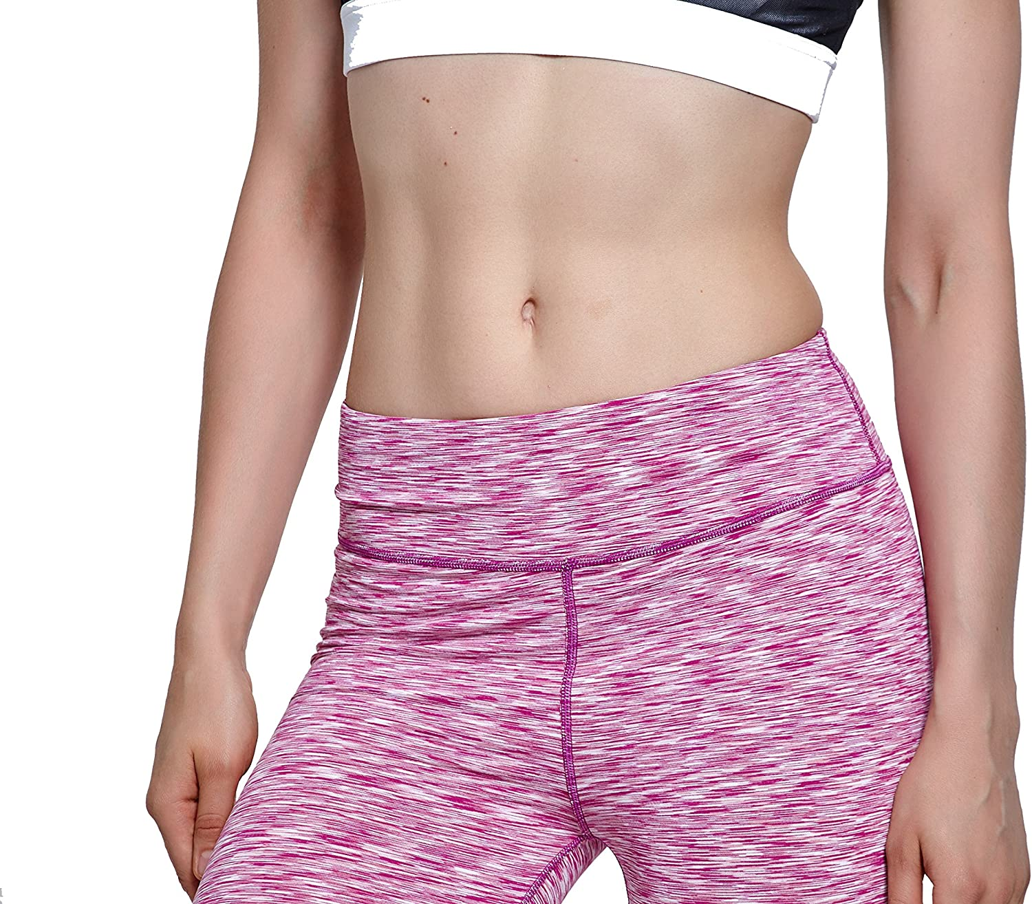 Lotsyle Long Sport Compression Shorts for Women Riding Running Workout
