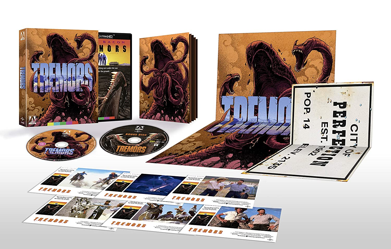 Tremors Limited Edition [4K UHD] [Blu-ray]: Amazon.es: Kevin ...