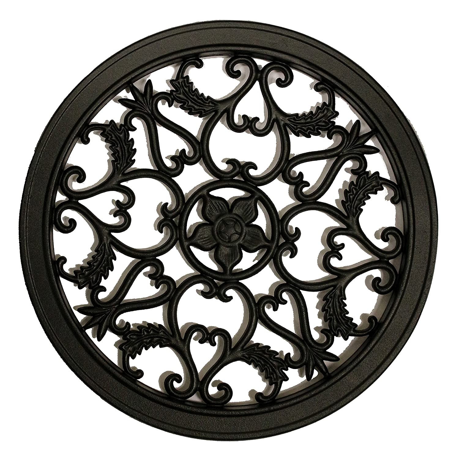 Nuvo Iron Round Decorative Insert for Fencing, Gates, Home, Garden ACW55
