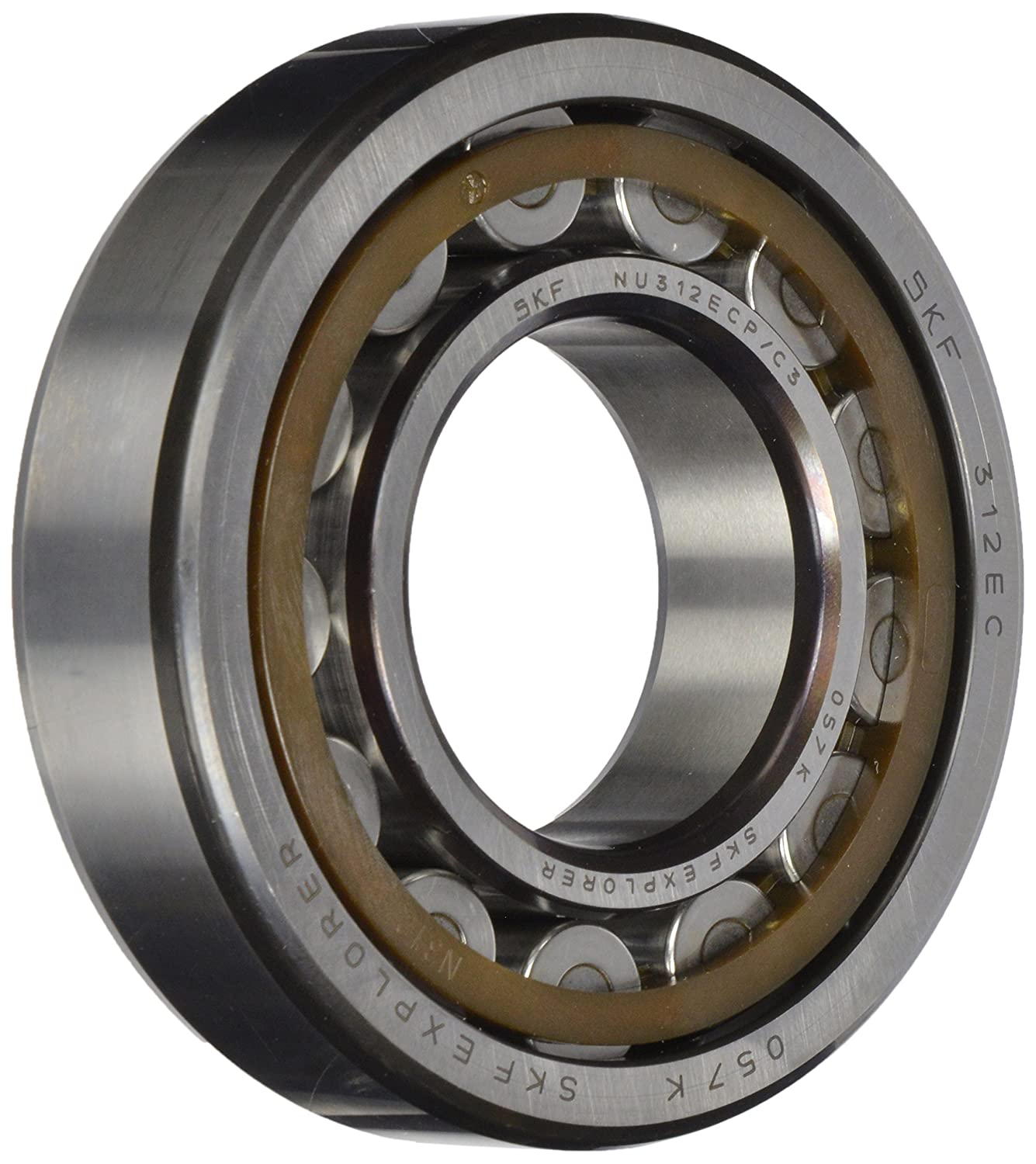 C3 Clearance High Capacity Single Row 80mm Bore SKF NU 216 ECP//C3 Cylindrical Roller Bearing 140mm OD Straight Bore Removable Inner Ring Polyamide//Nylon Cage 26mm Width Metric