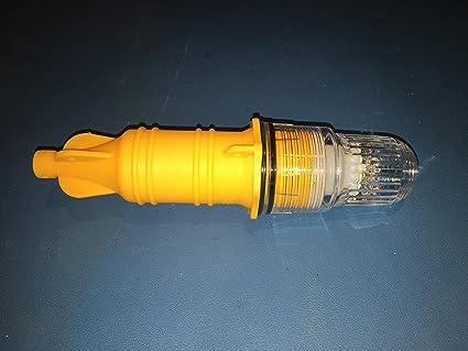 Pack of 8 Blinky Lights Marine Fishing Strobe for Lobster//Crab Hoop NET Blue LED Flashing