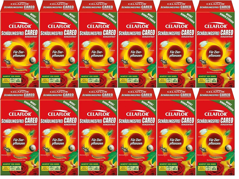 12 x 250 ml Celaflor Schädlingsfrei Careo Konzentrat