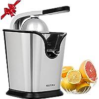 Electric Citrus Juicer Press | 160-Watt Stainless Steel Orange Juice Squeezer GS-405Y by Secura