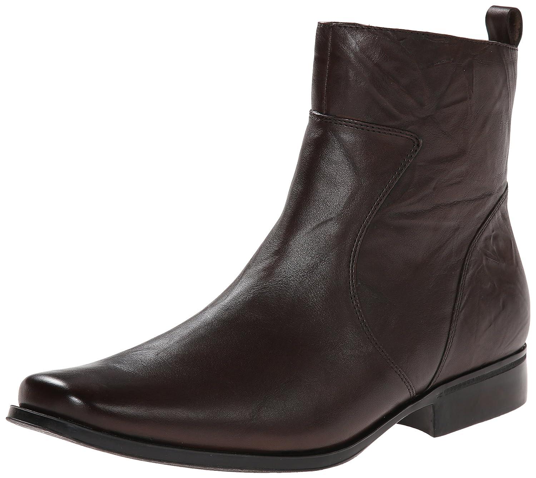 Rockport Men's Toloni Boot 9.5 W US Dark Brown Scrunch
