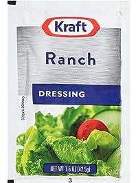 Kraft Ranch Salad Dressing (1.5 oz Packets, Pack of 60)