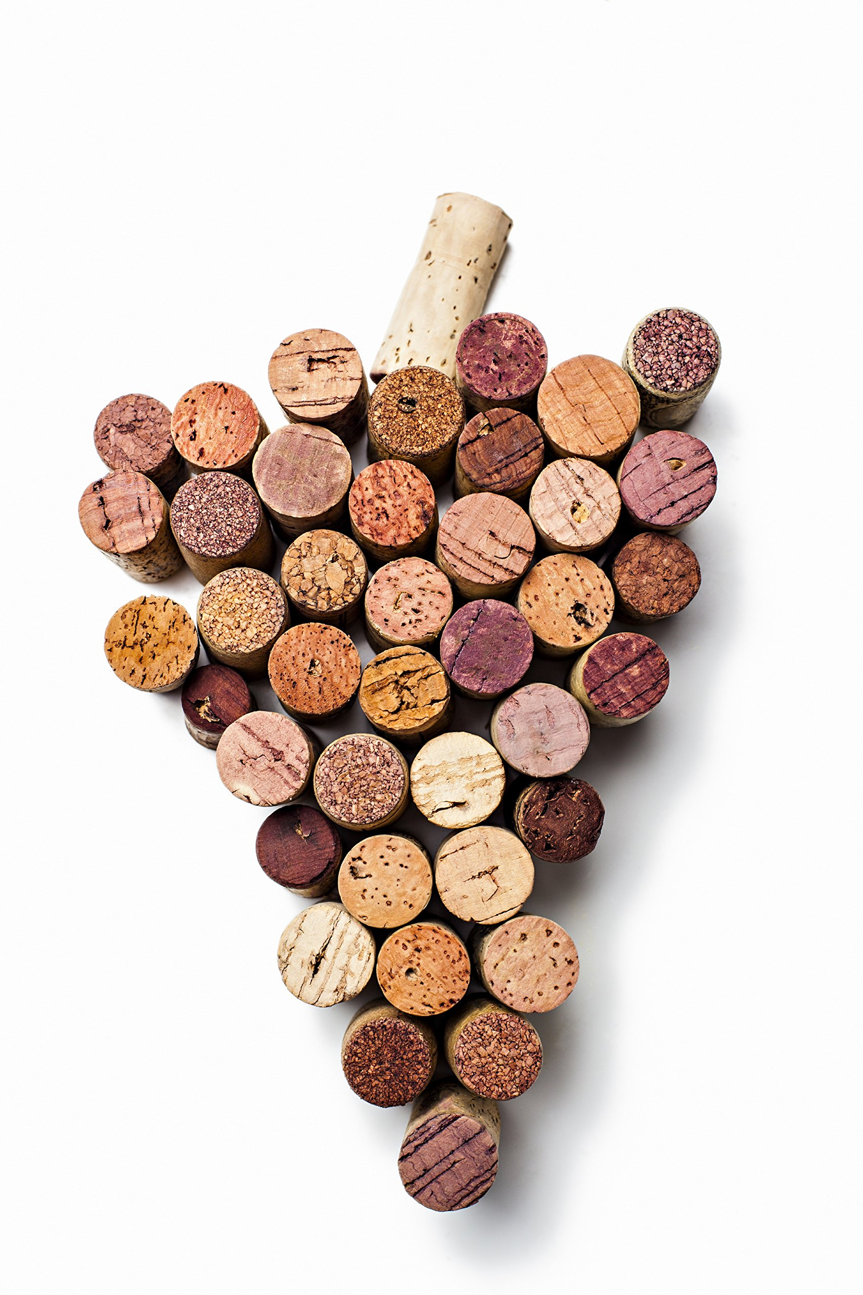 Premium Recycled Corks, Natural Wine Corks From Around the Us - 1,000 Count