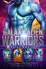 Galaxy Alien Warriors - The Box Set: A SciFi Alien Warrior Romance - The Complete Collection Kindle Edition