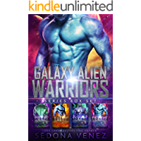 Galaxy Alien Warriors - The Box Set: A SciFi Alien Warrior Romance - The Complete Series
