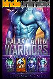 Galaxy Alien Warriors - The Box Set: A SciFi Alien Warrior Romance - The Complete Collection