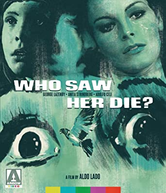 Amazon com: Who Saw Her Die? [Blu-ray]: George Lazenby