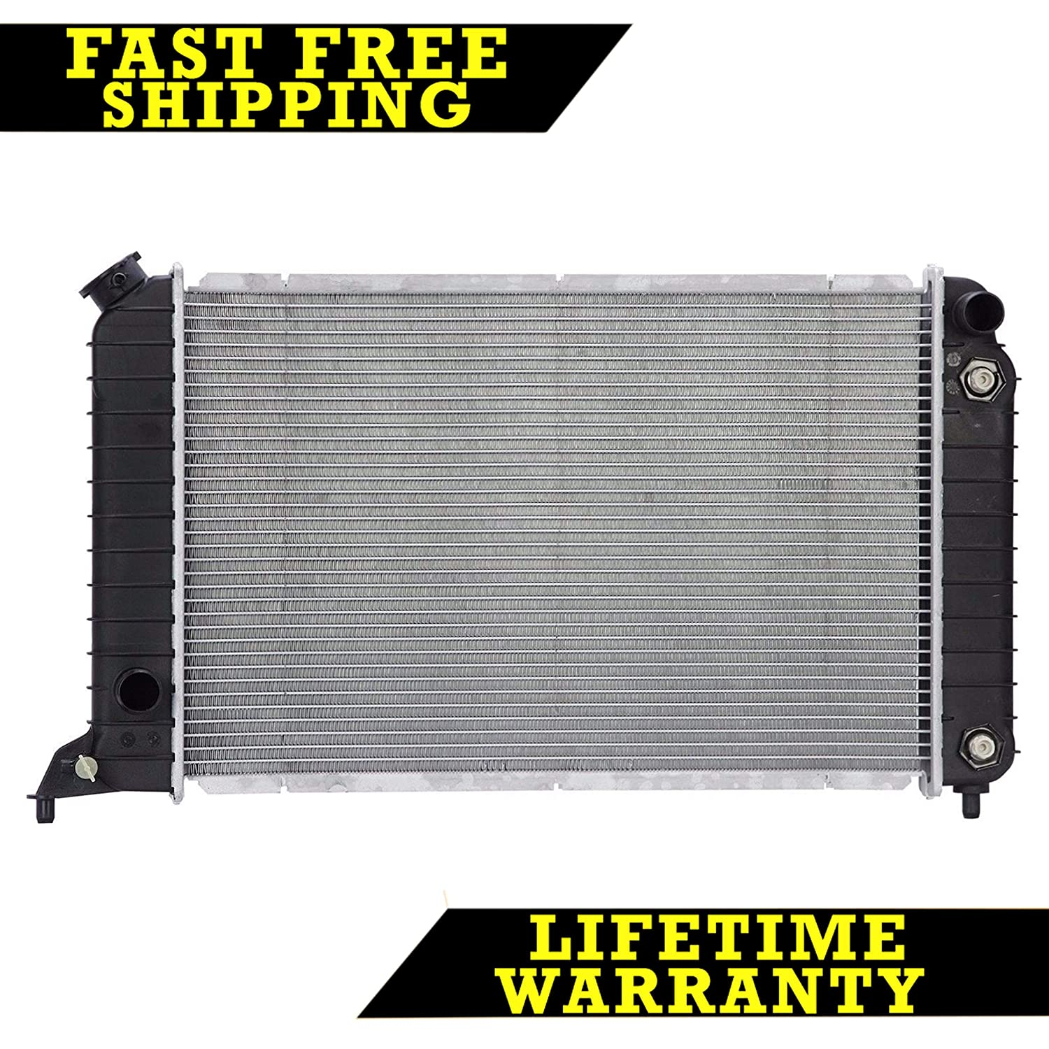 RADIATOR FOR CHEVY GMC ISUZU FITS S10 SONOMA HOMBRE 2.2 L4 4CYL 1531 Sunbelt Radiators