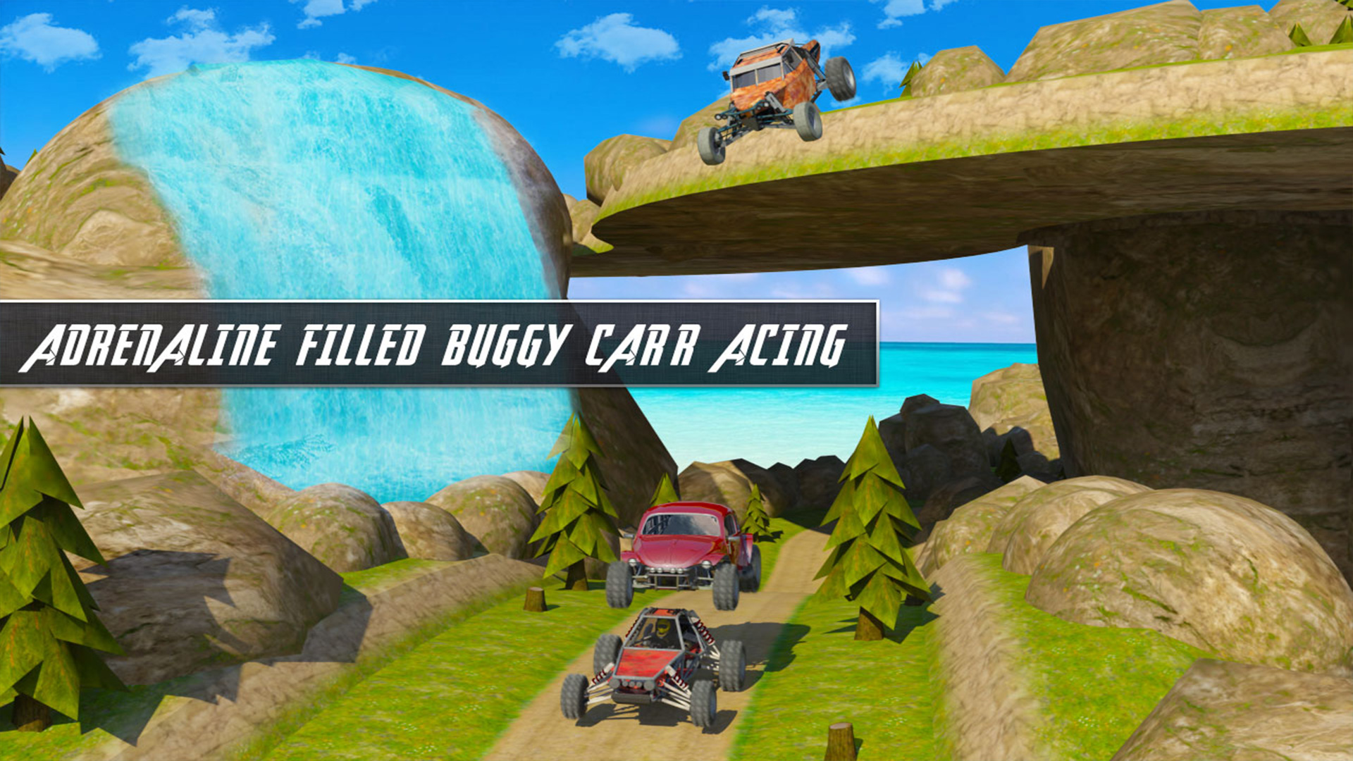 Offroad Dune Buggy Car Racing Outlaws Simulator 2018: Dirt Track Games Free  for Kids