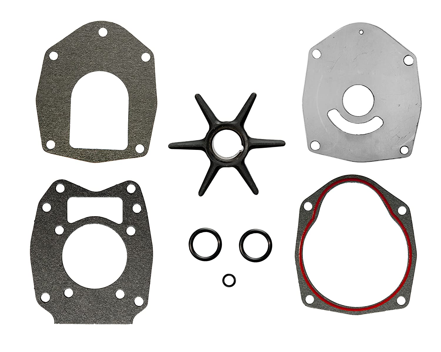 New WATER PUMP IMPELLER KIT fits 18-2565 18-2564 /& 47-8M0100526 Outboard Engines