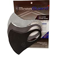 BossGuard Copper Infused Reusable washable Face Mask/ Couvre-visage (3 Pack). Ergonomic designed 3 layered system with…