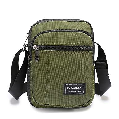 Amazon.com   Nicgid Small Messenger Bag Shoulder Bag Crossbody ...