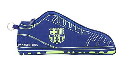buy popular 10b4e 72772 Amazon.com : F.C Barcelona Second Kit Shoe Pencil case ...