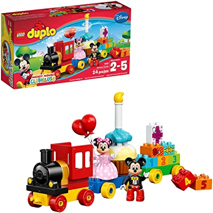 Amazon.com: LEGO Duplo marca 10597 Mickey y Minnie ...