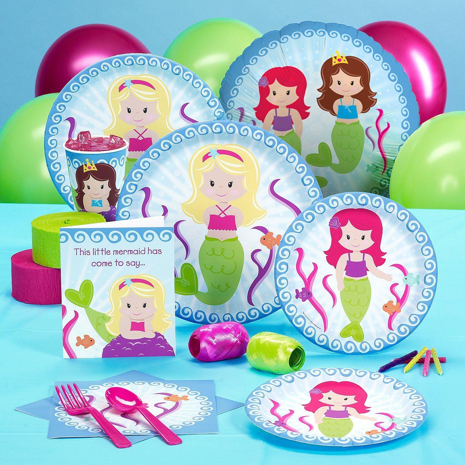 Party Destination 206503 Mermaids Standard Pack by Party Destination