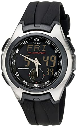 3f94fb34777a Amazon.com  Casio Men s AQ160W-1BV