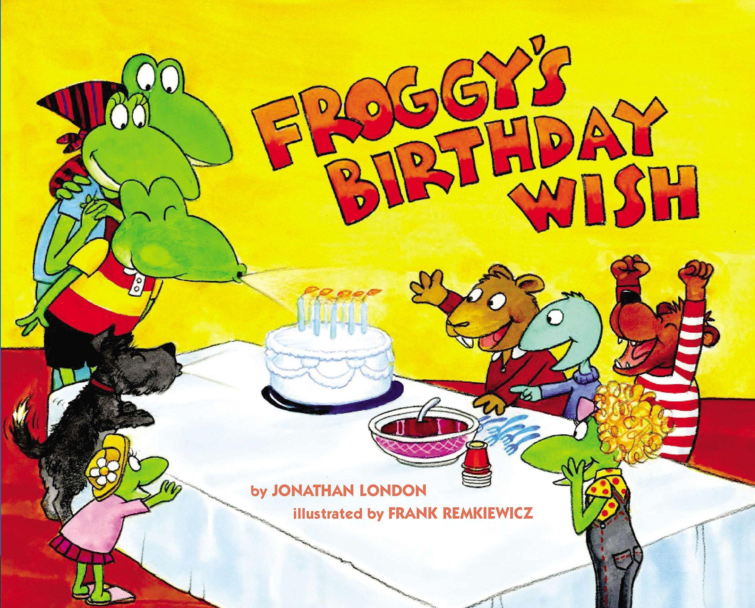 Froggy's Birthday Wish