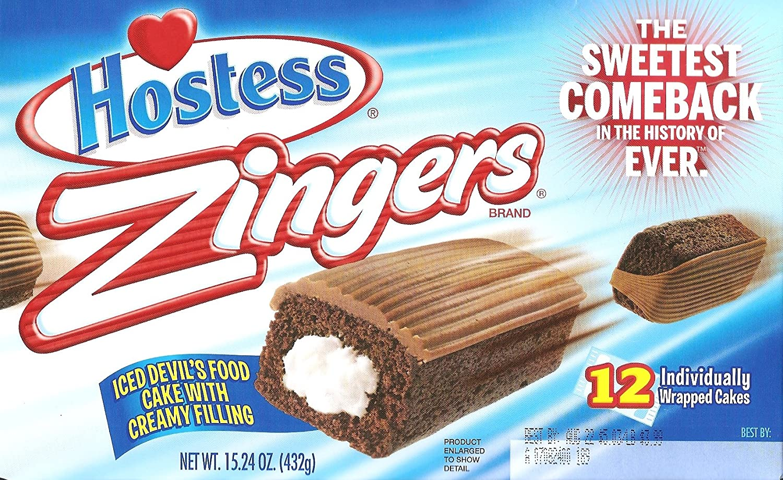 Devil's Food Zingers