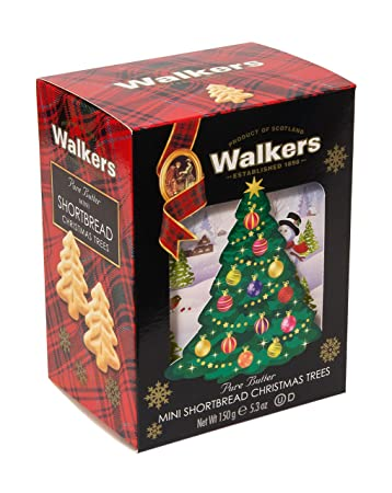 Walkers Shortbread Christmas Tree 3d Carton 5 3 Ounce