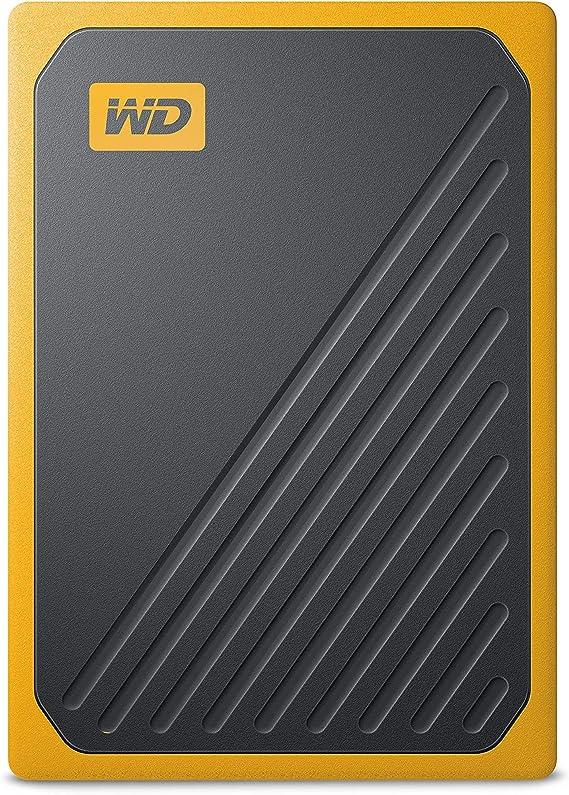 WD My Passport Go 1 TB, disco duro sólido externo - acabado ámbar ...