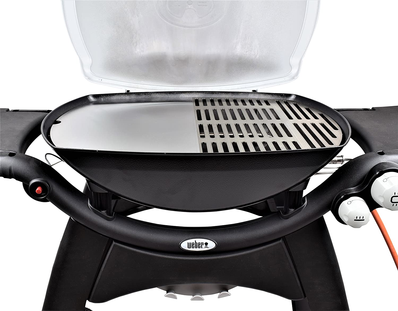 Weber Elektrogrill Grillplatte : Edelstahl grillplatte plancha passend für alle grills der