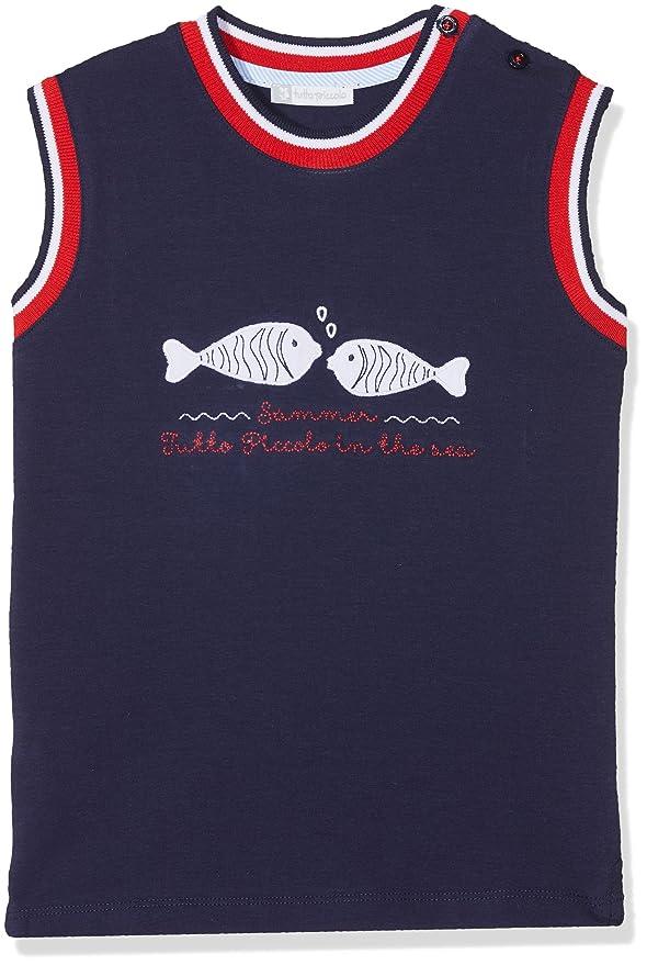 Tutto Piccolo 4673S18 Camiseta, Azul (Navy Blue B07), 5 años ...