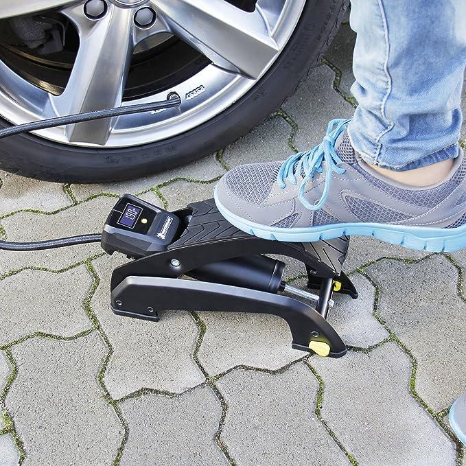 Michelin 92420 Bomba de aire de pedal, 1 cilindro con indicación digital: Amazon.es: Coche y moto