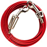Boss Pet - Prestige 40ft Large Dog Tie Out with Spring