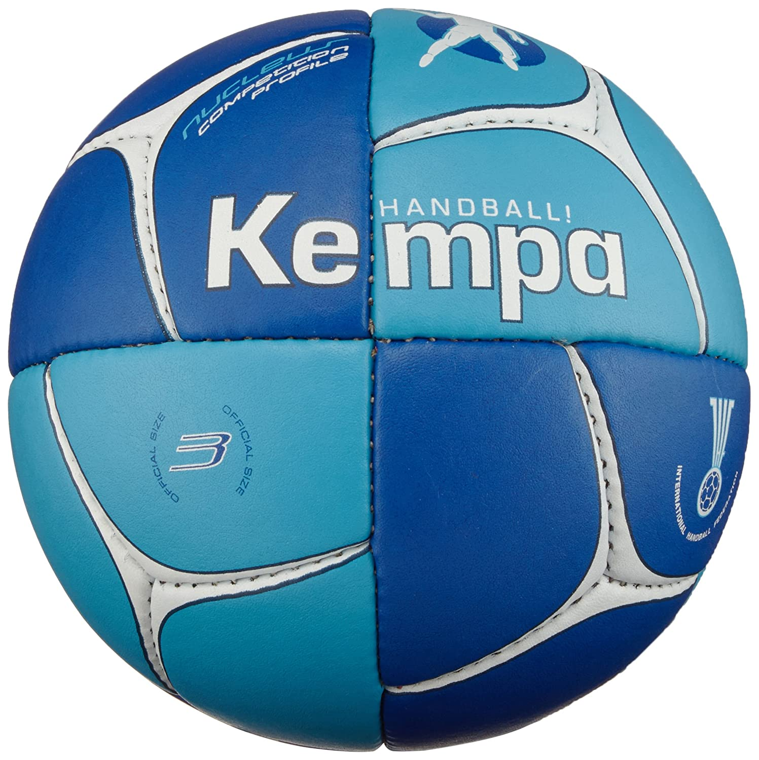 Kempa Nucleus Competition Profile - Balón de balonmano azul royal ...