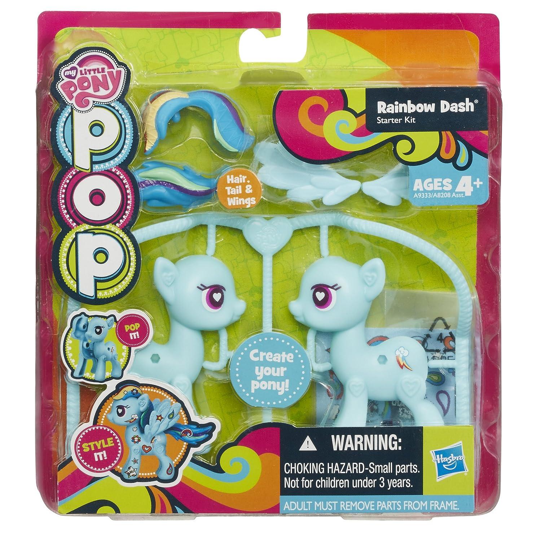 My Little Pony Pop Rainbow Dash Starter Kit Amazon Toys