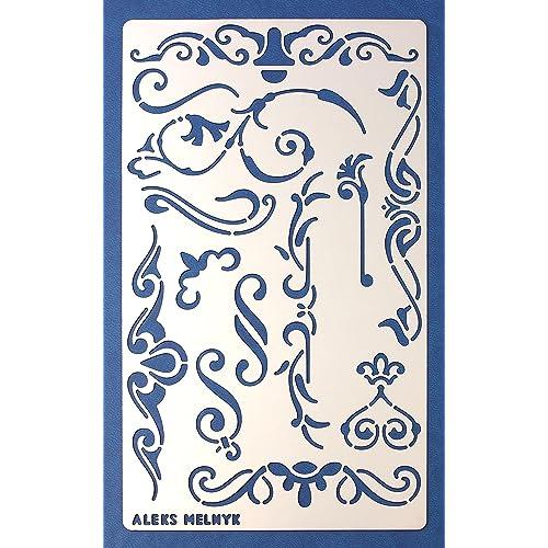 scroll stencils amazon com