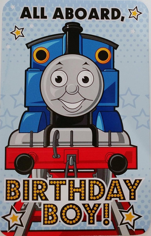 Todos a bordo Birthday Boy. tarjeta de felicitación de ...