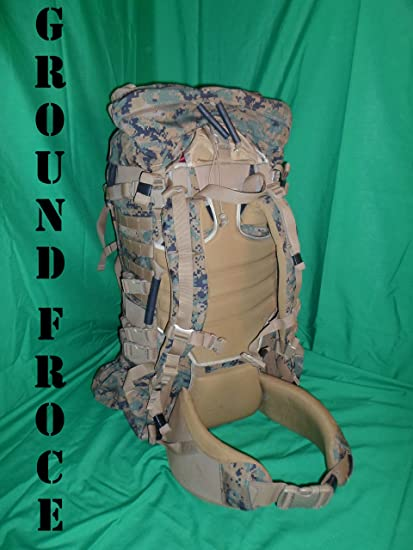 e0f4362a03b Amazon.com : USMC MARPAT ILBE Main Pack Gen. 2 with Lid, Belt, Straps,  Radio Pouch : Tactical Backpacks : Sports & Outdoors
