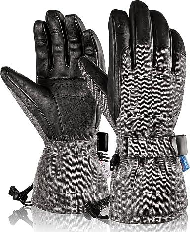 Men Winter Snow Gloves Thermal Sport Waterproof Ski Snowboard Glove Warm BS