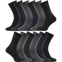 Charles Wilson Men's 12 Pair Essential Socks