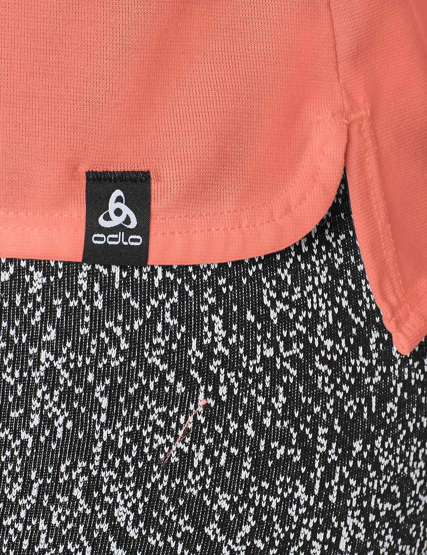 Odlo BL Top Crew Neck S//S Kumano Dry Maglietta da Donna