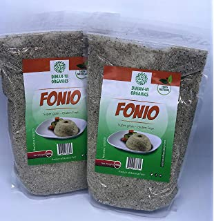 shipetaukin Raw fonio Ancient africana Cereales, 5 libras ...