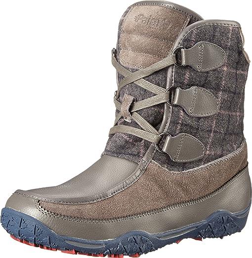 Pajar Women's Piper Boot, Dark Grey/Dark Grey, 39 EU/8-