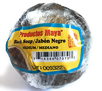 Black Soap/ Jabon Negro/ Jabon De Cuche Made In El Salvador