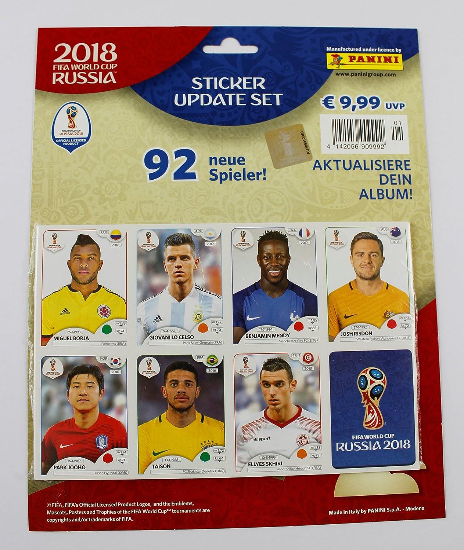 Panini Copa de Mundo 2018 Rusia –  Set 92 Update Stickers Neuf Pegatinas ré actualiser 003497BAGGD